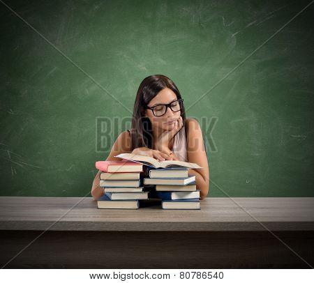 Interested teacher