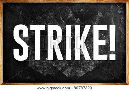 Teachers On Strike