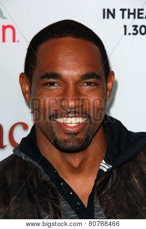 LOS ANGELES - JAN 20:  Jason George at the