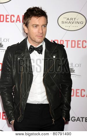 LOS ANGELES - JAN 21:  Ewan McGregor at the