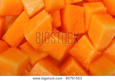 Yellow Melon Cubes
