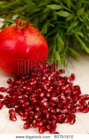 Heap Of Grenadine Seeds
