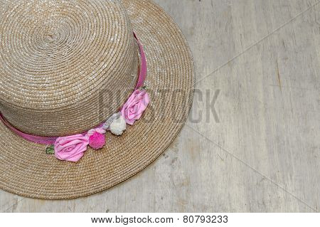 Hat On Old Wood
