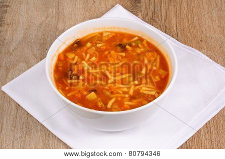 Vegetaroam Minestrone Soup.