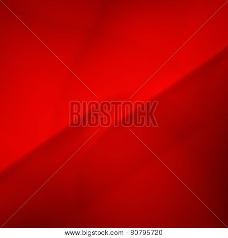 Smooth Red Abstract Background