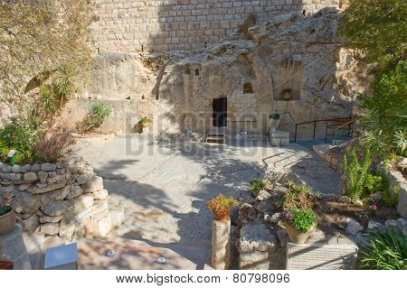 Garden Tomb In Jerusalem