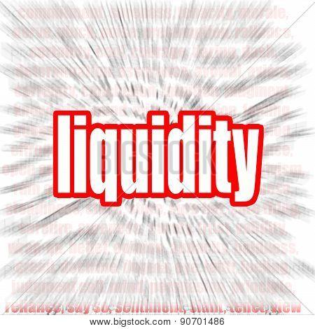 Liquidity Word Cloud