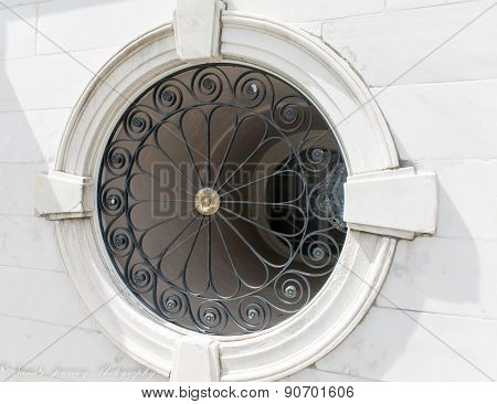 Decorative Round Window