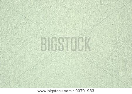 Green Plaster Wall Texture Background