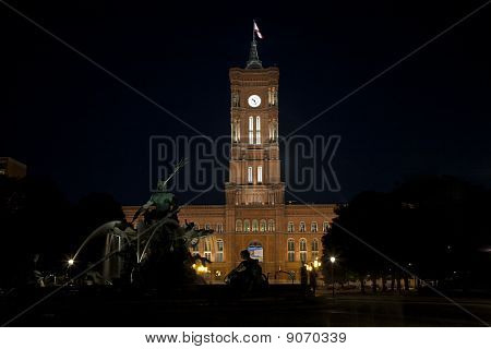 Berlin Town Hall (rotes Rathaus) - Germany
