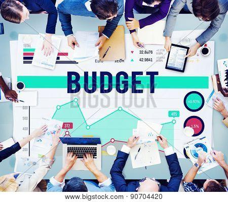 Budget Finance Banking Profit Concept