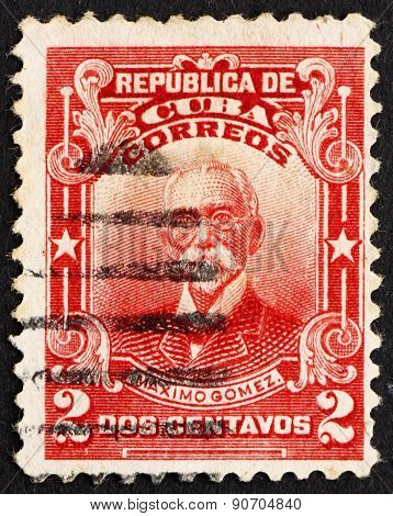 Postage Stamp Cuba 1911 Maximo Gomez, General