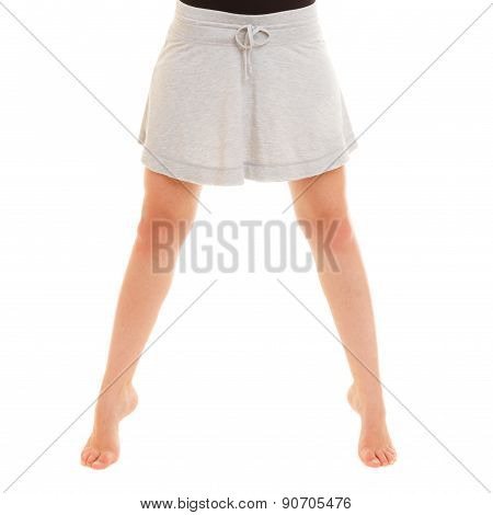 Woman Dancer Teen Girl Legs Break Dancing