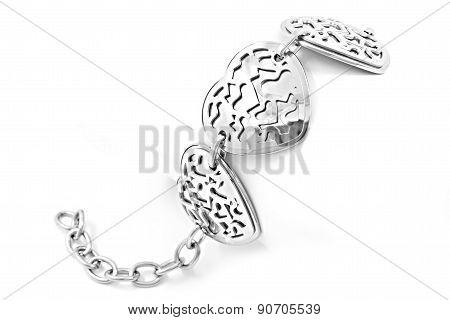 Surgical steel bracelet