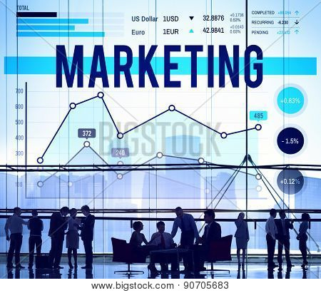Marketing Planning Strategy Business Organization Concept