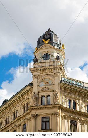 Generali Building Spiegelgasse In Vienna, Austria