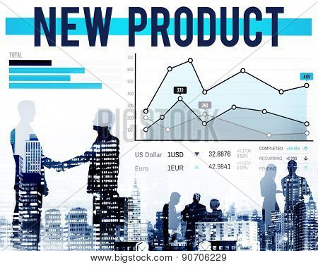 New Product Branding Marketing Promotion Concept