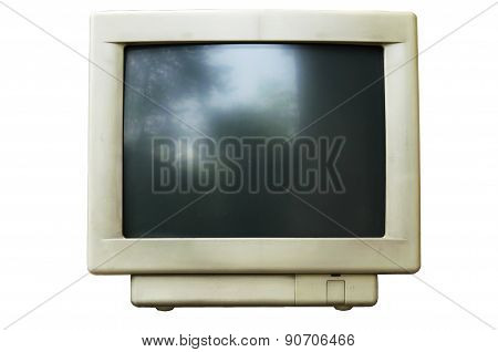 Old Computer Crt Monitor