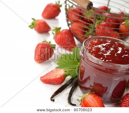 Strawberry Jam With Vanilla