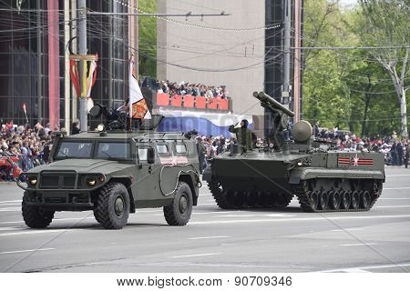 Russia; Rostov-on-don - May 9 - Parade In Honor Of The 70Th Anniversary Of The Victory On May 9, 201