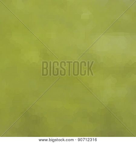 Abstract Cloudy Green Pattern Background