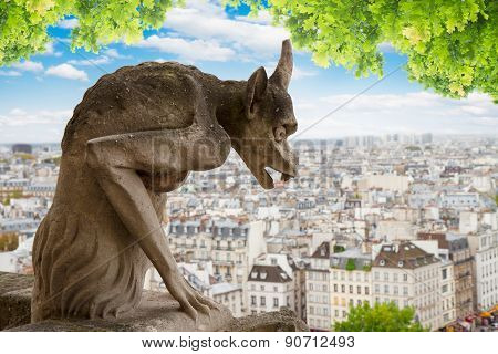 Gargoyle of  Paris