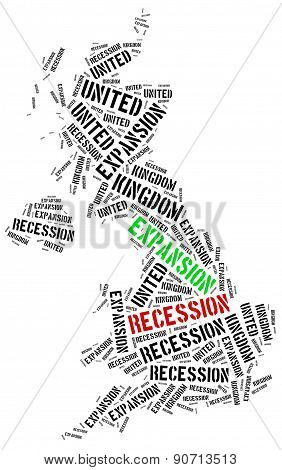 Expansion And Recession In Uk.