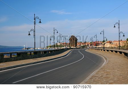 Road To Old Town Of Nesebar