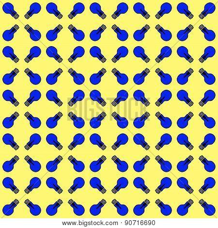 Seamless Texture (dark-blue Glowing Lamp)