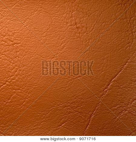 Orange Leatherette Background