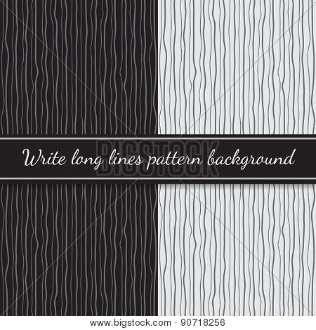 Write long lines black and white pattern,vector graphic design background