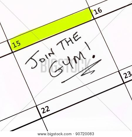 Join The Gym!