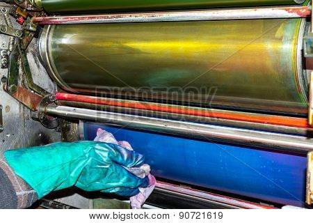 Cylinder washing
