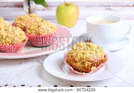 Spicy Apple Cakes