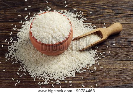 Bowl Full Of White Rice