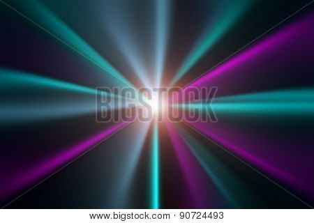 Abstract Light Blue And Pink Background