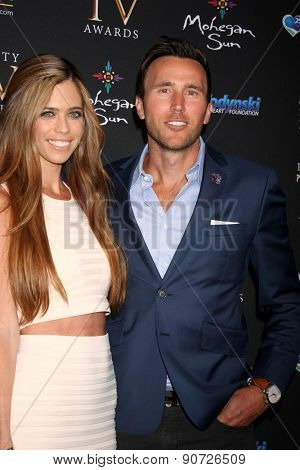 LOS ANGELES - MAY 12:  Lydia McLaughlin, Doug McLaughlin at the Children's Justice Campaign Event at the Private Residence on May 12, 2015 in Beverly Hills, CA