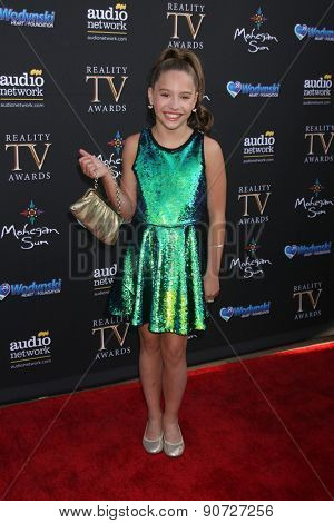 LOS ANGELES - MAY 12:  Mackenzie Ziegler at the Children's Justice Campaign Event at the Private Residence on May 12, 2015 in Beverly Hills, CA