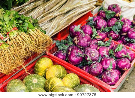 Vegetable in food market