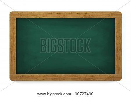Blank Chalkboard Green