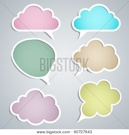 Speech Clouds Of Different Styles