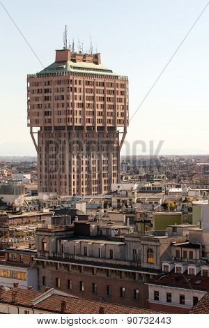 Velasca Tower In Milan