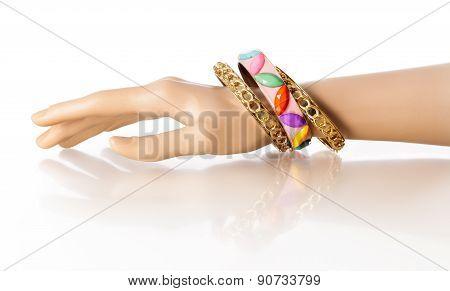 Bracelet Display Hand