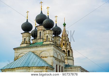 Voskresenskaya Church.Kostroma region. Russia.