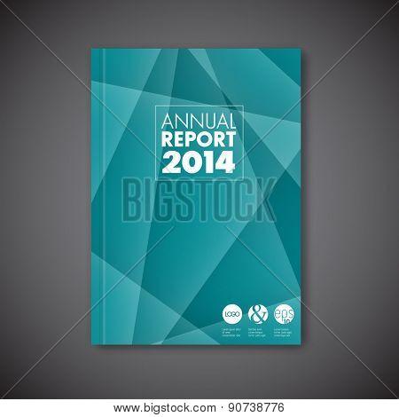 Modern Vector abstract brochure / book / flyer design template