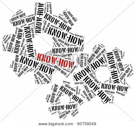 Know-how. Special Knowledge Required In Business.