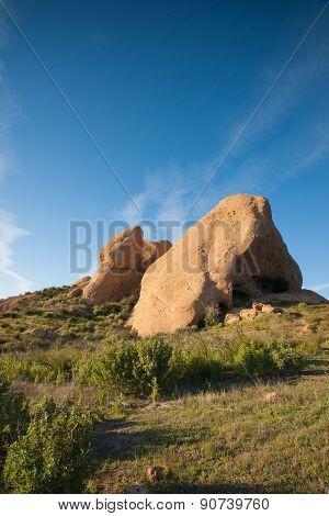 Rock Boulders In California