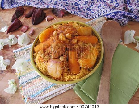 Couscous With Chicken.