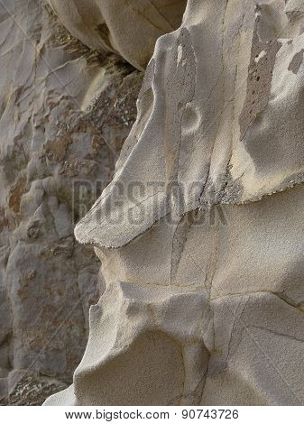Etched Face Upon Rocky Clifface