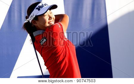 Inhee Lee At The Ana Inspiration Golf Tournament 2015